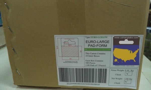 Euro Large Carton US